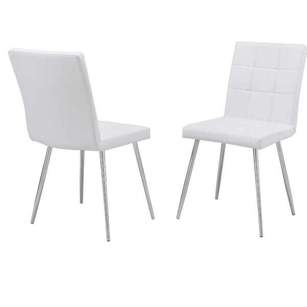 Kiera Upholstered Dining Chair (Set Of 2) By Orren Ellis