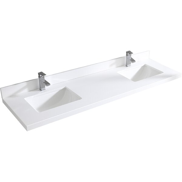 Maston 60 Double Bathroom Vanity Set