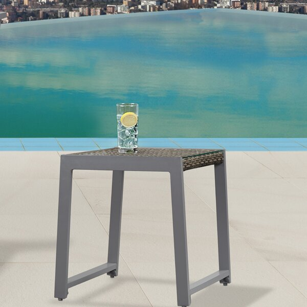 Calvin Glass Side Table (Set of 2) by Real Flame