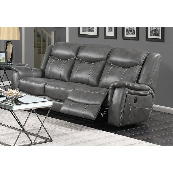 Fresh Look Nickelson Motion Reclining Sofa by Red Barrel Studio by Red Barrel Studio