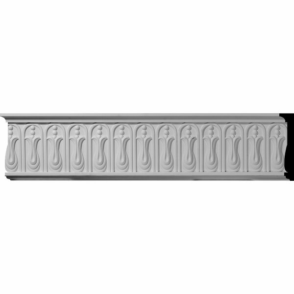Odessa 6 1/4H x 94 1/2W x 1 1/2D Chair Rail Moulding by Ekena Millwork
