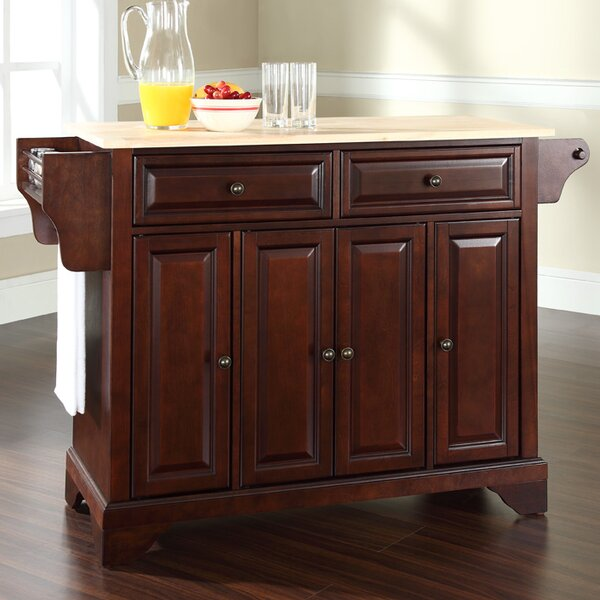 Hedon Kitchen Island by Three Posts