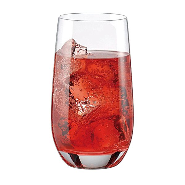 Cool Long Drink XL 17 oz. Glass Highball Glasses (Set of 6) by RONA