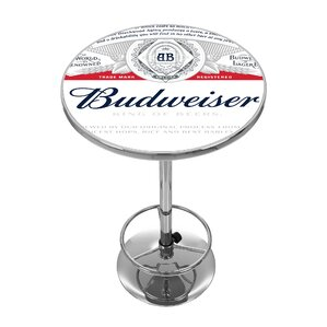 Budweiser Pub Table by Trademark Global Onsale