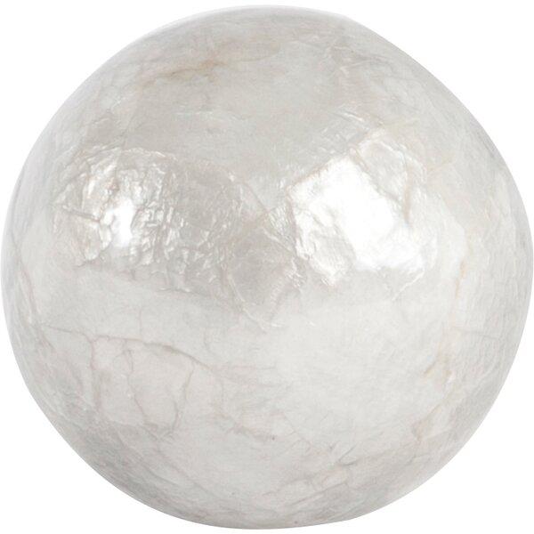 Capiz Ball Sculpture (Set of 6) by Beachcrest Home