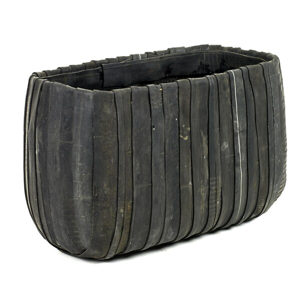 Carmon Rectangle Rubber Pot Planter by Williston Forge