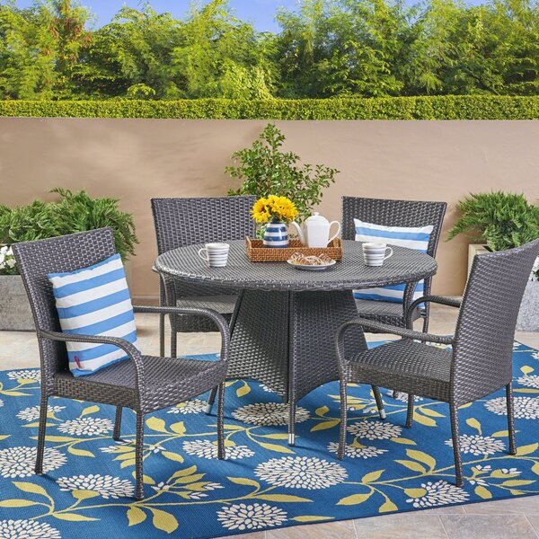 Arend 5 Piece Dining Set by Gracie Oaks