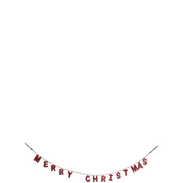 Wooden Merry Christmas Garland by The Holiday Aisle