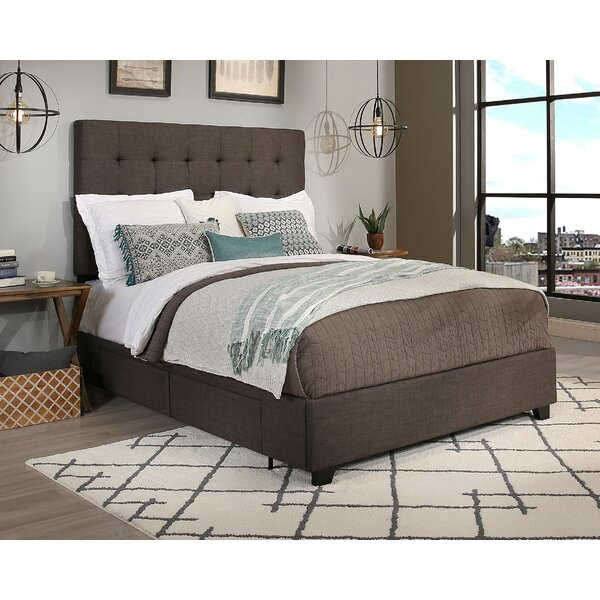 Mission 4 Upholstered Storage Platform Bed by Canora Grey