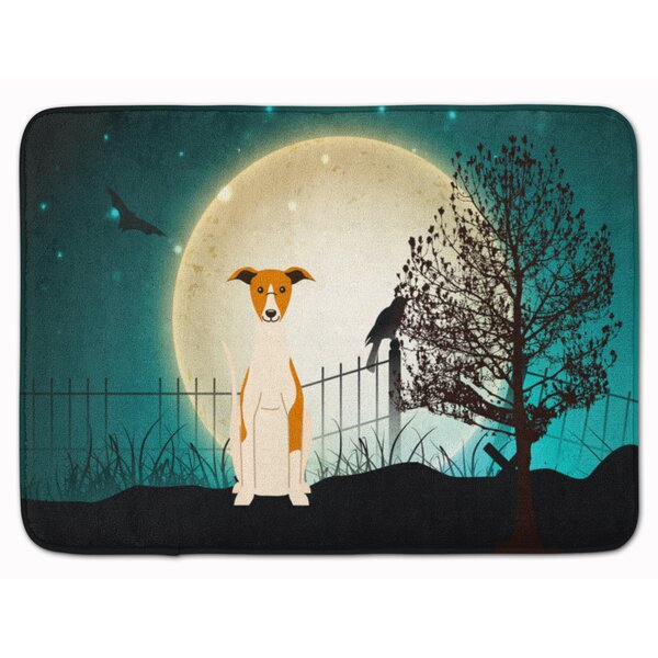 Testa Scary Whippet Memory Foam Bath Rug by The Holiday Aisle
