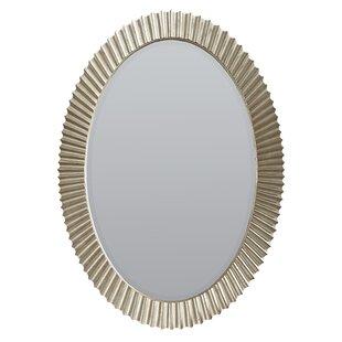 Rosdorf Park Delahunt Silver Accent Mirror