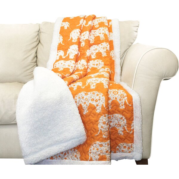 Bennett Sherpa Throw Blanket by Viv + Rae
