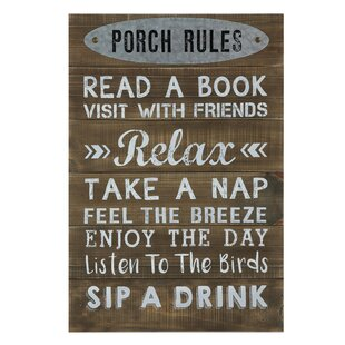 Back Porch Signs Wayfair