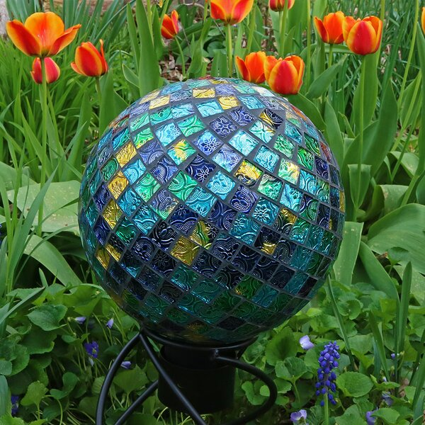 King Mosaic Ball Gazing Globe by Alcott Hill
