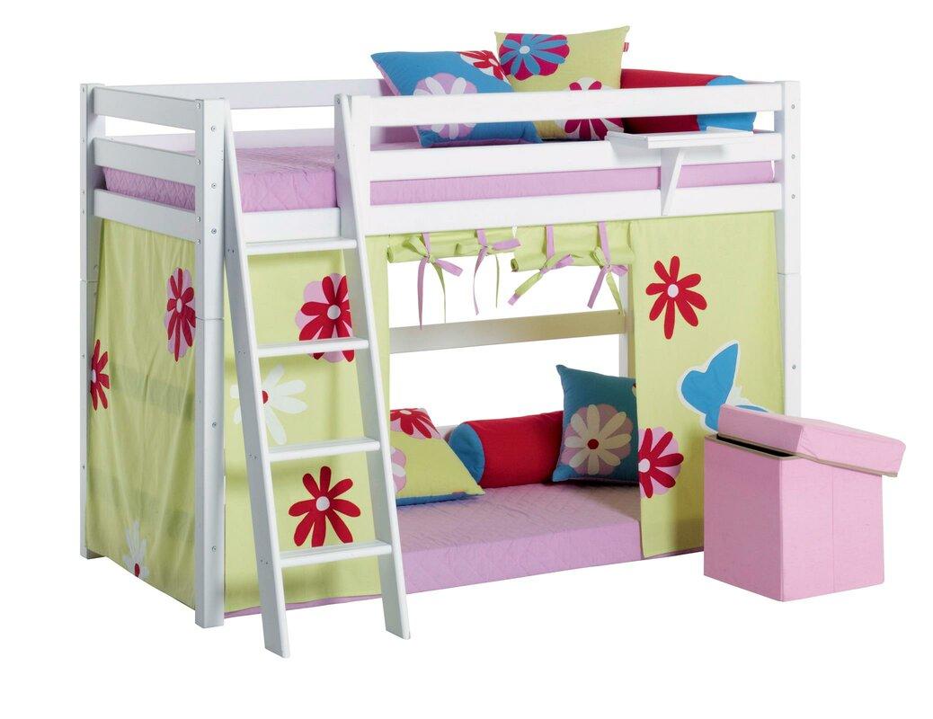 hoppekids hochbett mit leiter 90 x 200 cm bewertungen. Black Bedroom Furniture Sets. Home Design Ideas