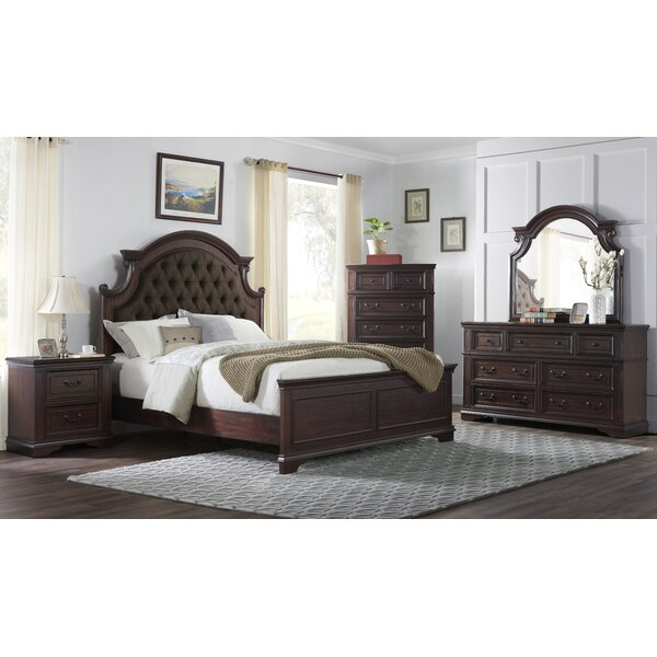 Benedick Panel Configurable Bedroom Set by One Allium Way