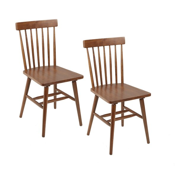 Alidade Mid-Century Modern Dining Chair (Set of 2) by Ebern Designs
