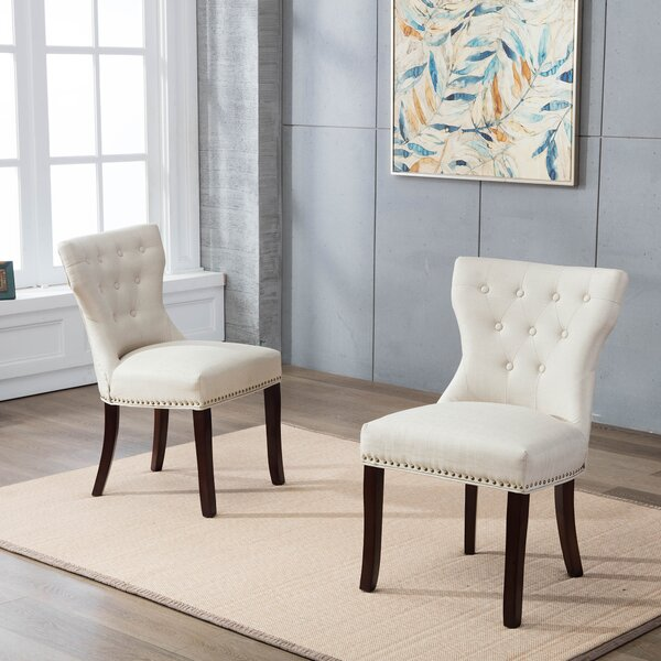 Keneisha Upholstered Dining Chair (Set Of 2) By Winston Porter