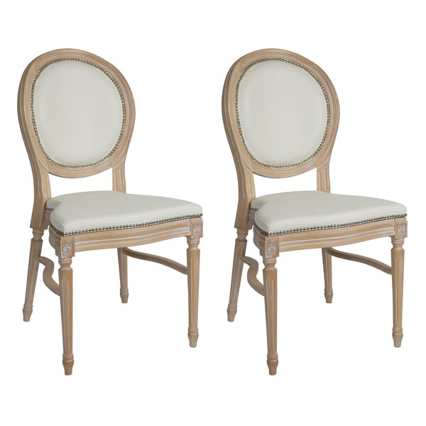 Philpott Dining Chair (Set of 2) by One Allium Way