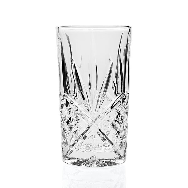 Dublin 10 oz. Crystal Highball Glass (Set of 4) by Godinger Silver Art Co