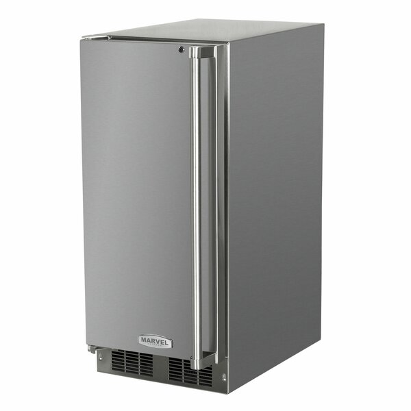 Outdoor Crescent 15 3 lb. Daily Production Built-In Ice Maker by Marvel