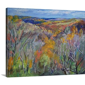 Appalachian Trail by Michael Creese Painting Print on Canvas by Canvas On Demand