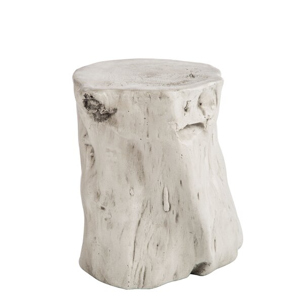 Vidal Log Accent Stool by Union Rustic