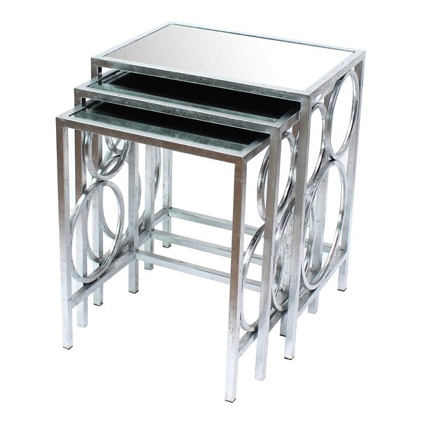 Strom 3 Piece Nesting Table Set By House Of Hampton