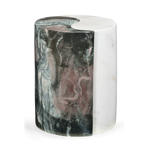 Biscayne Marble Side Table by Jonathan Charles Fine Furniture