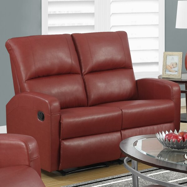 Fiala Reclining Loveseat by Ebern Designs