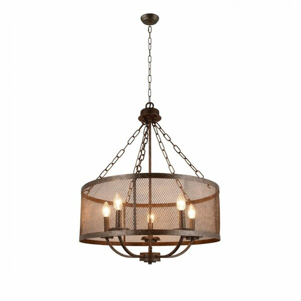 Bergquist 5-Light Candle Style Drum Chandelier by Williston Forge Williston Forge
