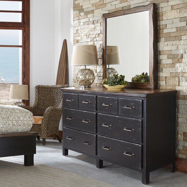 Big Sur 6 Double Dresser With Mirror By Panama Jack Home by Panama Jack Home Great price