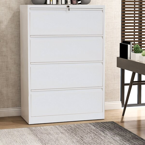 Adileny 4-Drawer Vertical Filing Cabinet