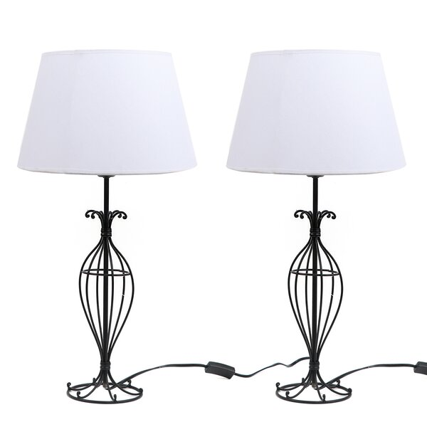 Wire 25.5 Table Lamp (Set of 2) by DEI