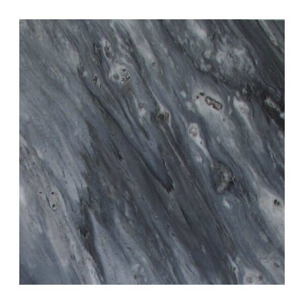 Bardiglio 12 x 24 Marble Field Tile in Dark Gray by Seven Seas
