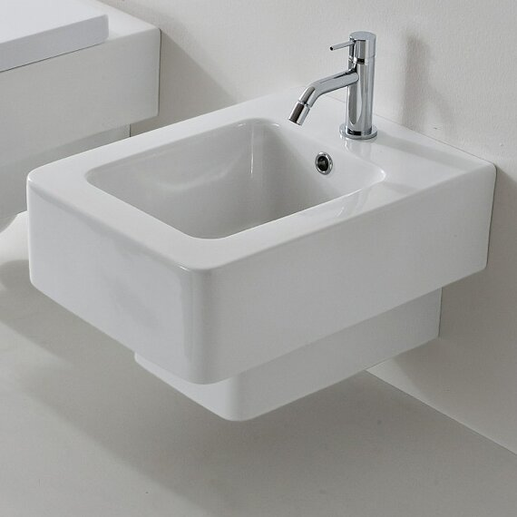 Teorema 13 Wall Mount Bidet by Scarabeo by Nameeks