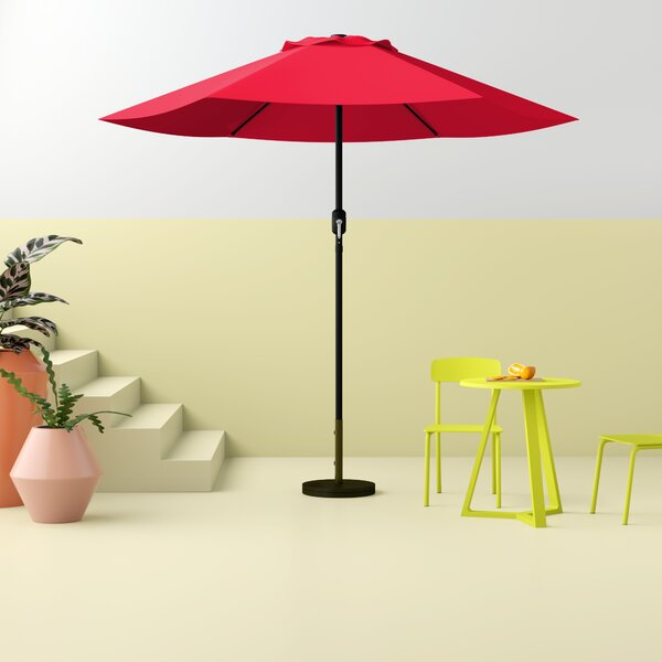 Tempo 7.5' Market Umbrella By Hashtag Home by Hashtag Home Great Reviews