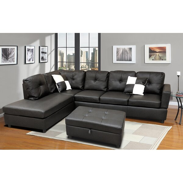 Free Shipping & Free Returns On Roughton Modular Sectional with Ottoman by Winston Porter by Winston Porter