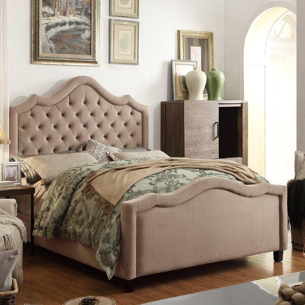 Wick, Somerset Queen Upholstered Standard Bed by Willa Arlo Interiors