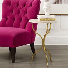 Reviews Martini End Table by Hooker Furniture