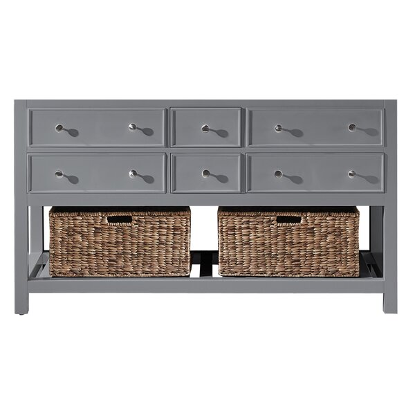 Truby 60 Double Bathroom Vanity Base Only