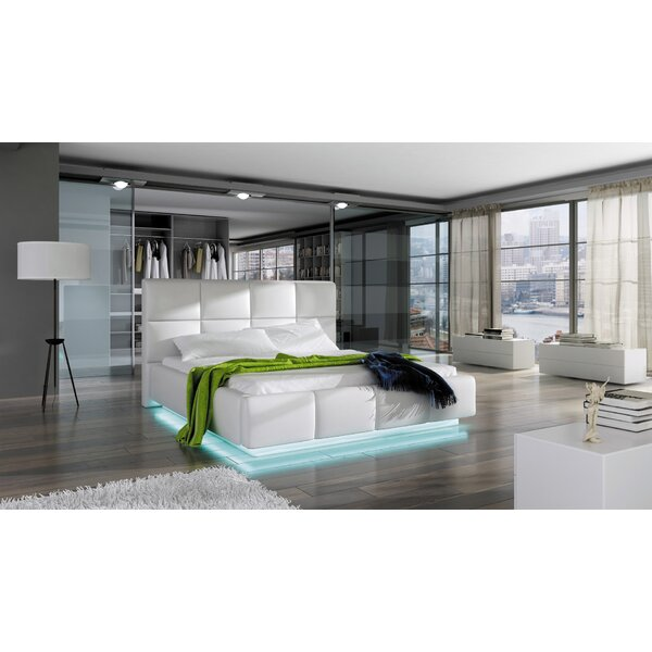 Cordon Upholstered Storage Platform with Mattress by Orren Ellis