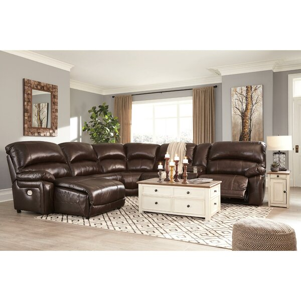 Pisano Left Hand Facing Reclining Sectional By Red Barrel Studio