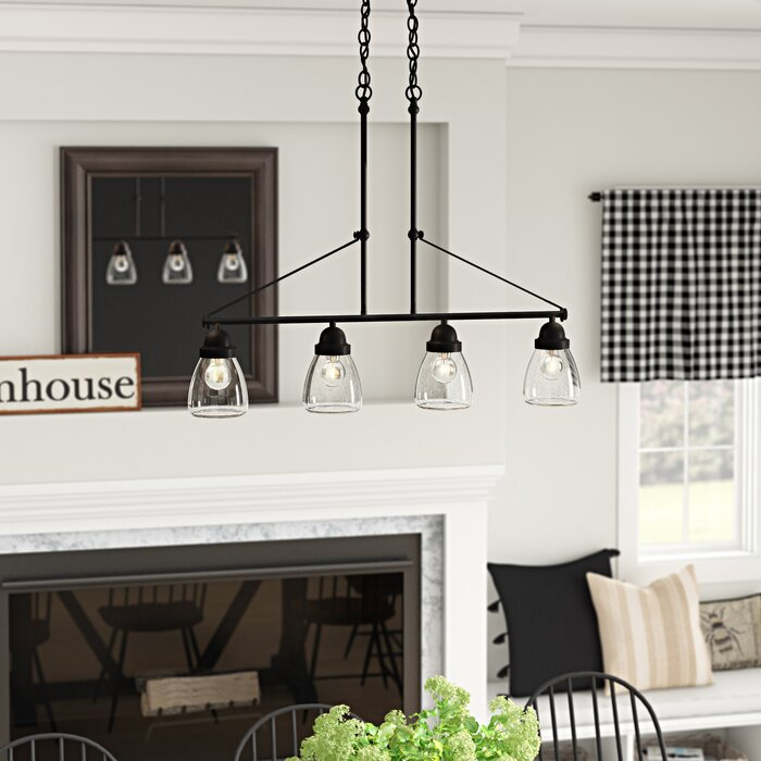 Harborcreek 4 Light Kitchen Island Pendant