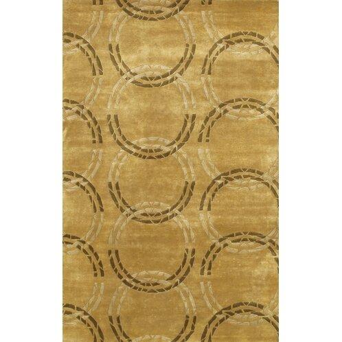 Caines Hand Woven Brown/Tan Area Rug by Fleur De Lis Living