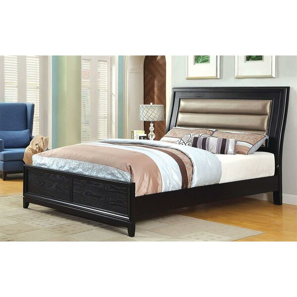 Halina Upholstered Platform Bed by Red Barrel Studio