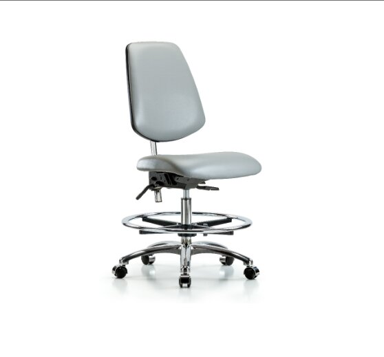 Miah Medium Bench Office Chair by Symple Stuff