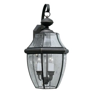 Find for Garret 2-Light LED Outdoor Wall Lantern By Charlton Home