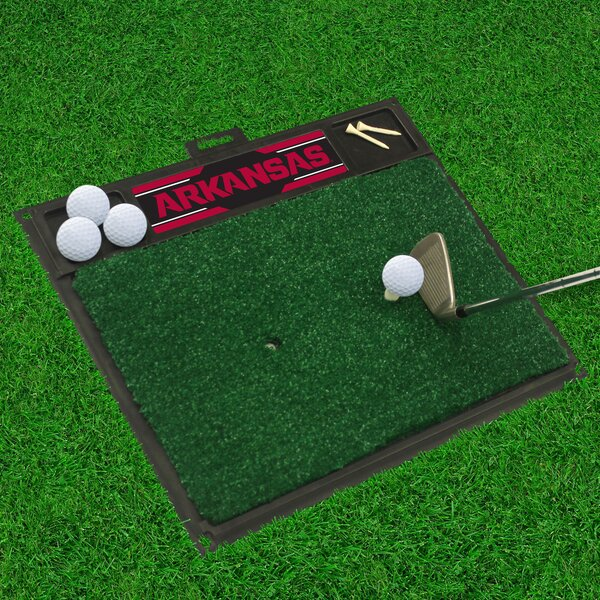 NCAA University of Arkansas Golf Hitting Mat by FANMATS