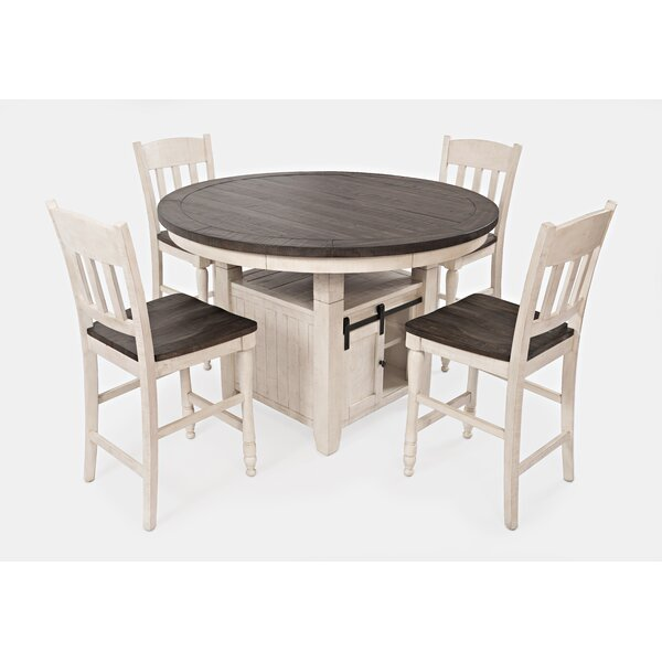 Westhoff 5 Piece Counter Height Dining Set by Gracie Oaks